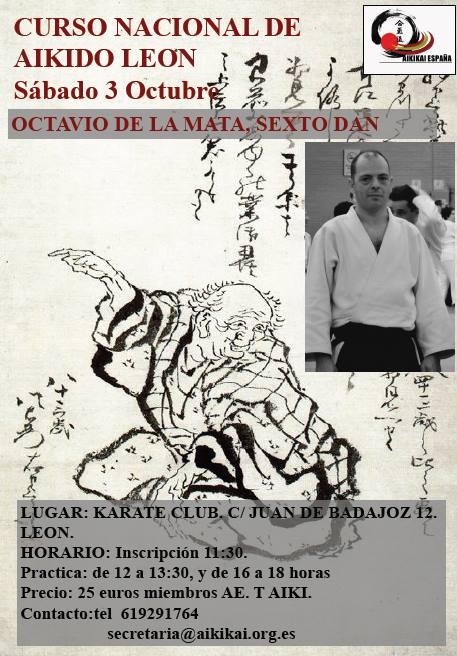 Aikido Leon Octavio de La Mata