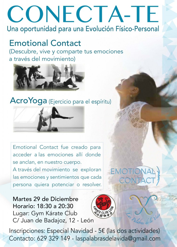 Curso Emotional Contact y AcroYoga